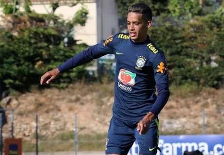 Pedrinho será o representante do Corinthians no Pré-Olímpico (Foto:Fernando Torres / CBF)
