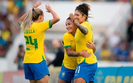 Brasil vence e encerra ano com chave de ouro - (Foto:  Lucas Figueiredo/CBF)