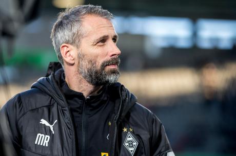 Marco Rose, técnico do Borussia Mönchengladbach (Foto: Reprodução/Twitter)