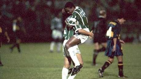 Com Luxemburgo, Palmeiras fez história e goleou o Boca por 6 a 1 em 1994 (Foto: Ag. Estadão / Arquivo)