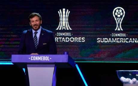 Sorteio define confrontos da Sul-Americana - (Foto: NORBERTO DUARTE / AFP)