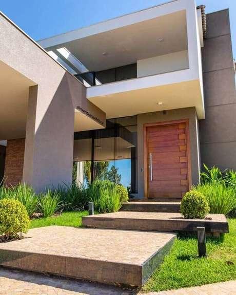 11. Todos os detalhes vão fazer diferença para fachadas de casas lindas – Foto: Invento Arquitetura