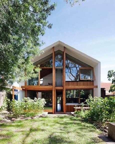 17. Modelos de casas lindas de madeira – Foto: Architonic