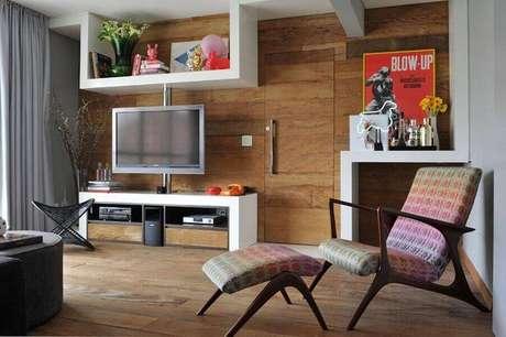 28. Casa linda com decoração simples e prática – Foto: Guto Requena
