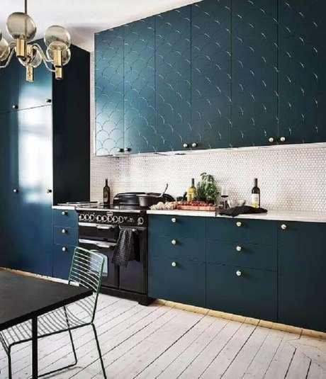 29. Invista em armários personalizados para a sua casa linda ficar ainda mais bonita – Foto: Revista VD