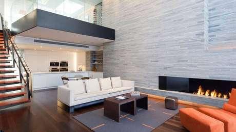 30. Casas lindas por dentro com decoração minimalista – Foto: Home Interior Design