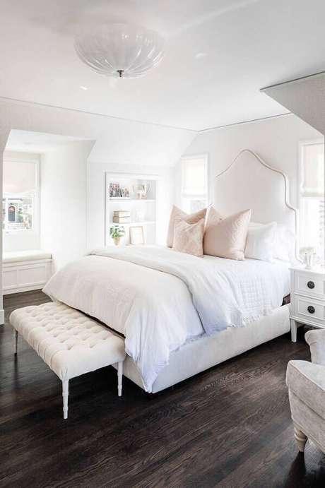 31. Casas lindas por dentro com decoração romântica para quarto de casal – Foto: We Heart It