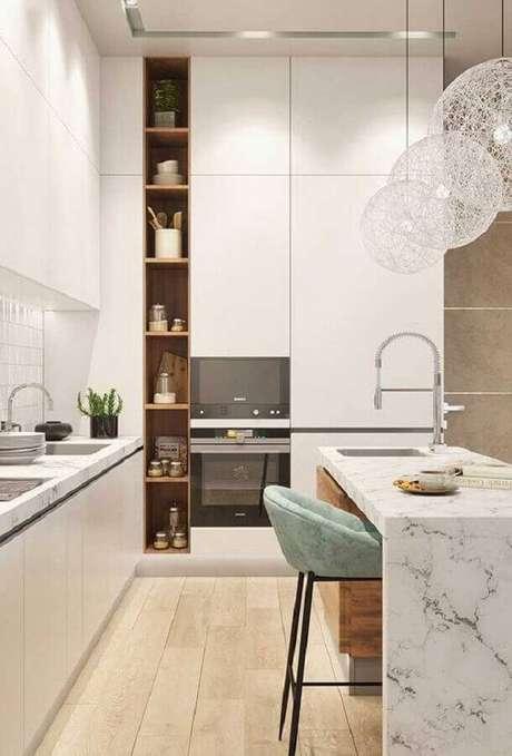 35. Invista em um bom projeto de iluminação para casas lindas por dentro e super aconchegantes – Foto: Revista VD