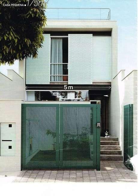 53. Fachadas de casas pequenas e lindas com arquitetura moderna – Foto: Assetproject