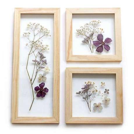 14. As flores secas são lindas de muitas formas. Foto: Tua Casa