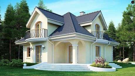 60. Modelos de casas lindas – Foto: Woody Nody