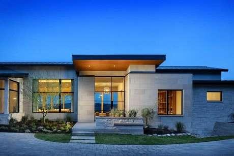 61. Modelos de casas lindas térrea – Foto: SVM Houses