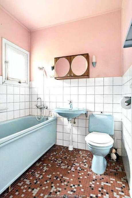 33. Pastilhas são ótimos exemplos de pisos antigos. Foto: Nuevas Moda