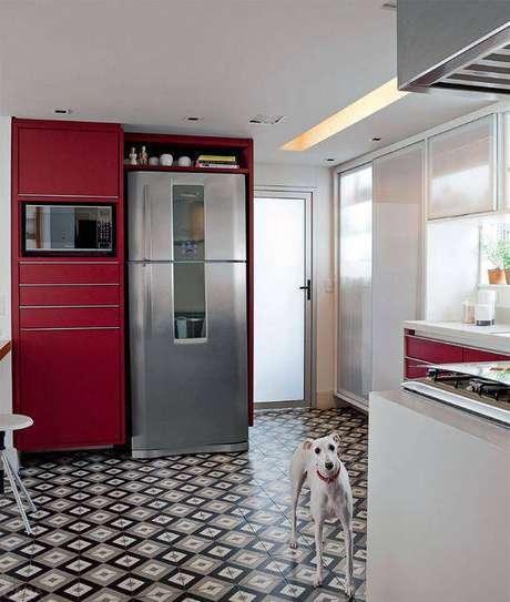 8. A depender dos pisos antigos, sua decoração inteira pode mudar. Foto: Casa Abril