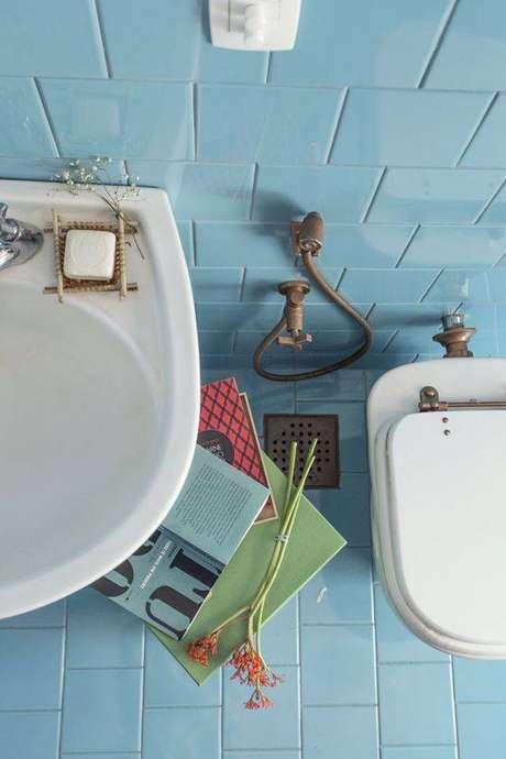 16. Os pisos antigos podem ser super coloridos. Foto: Casa Vogue