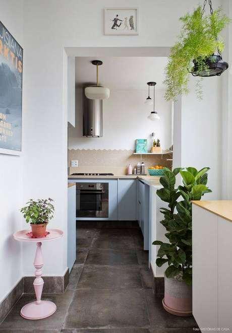 1. Os pisos antigos voltaram à moda. Foto: Histórias de Casa
