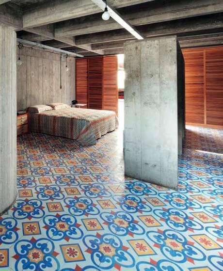 37. Este quarto ficou lindo com pisos antigos. Foto: Catview