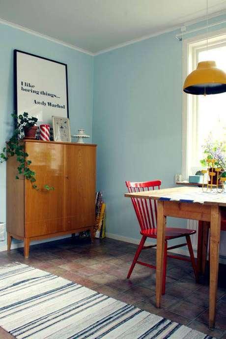 13. Muitos pisos antigos voltaram a moda. Foto: Design Sponge