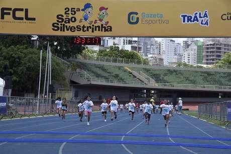 A São Silvestrinha é organizada pela Fundação Cásper Líbero (Foto: Gazeta Press)