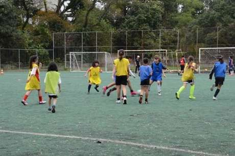 O futebol feminino é o principal destaque do Centro Olímpico (Foto: Divulgação/Centro Olímpico)