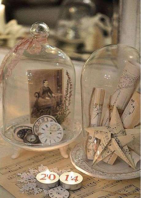 40. A redoma pode ser usada em festas de fim do ano. Foto: Pinterest