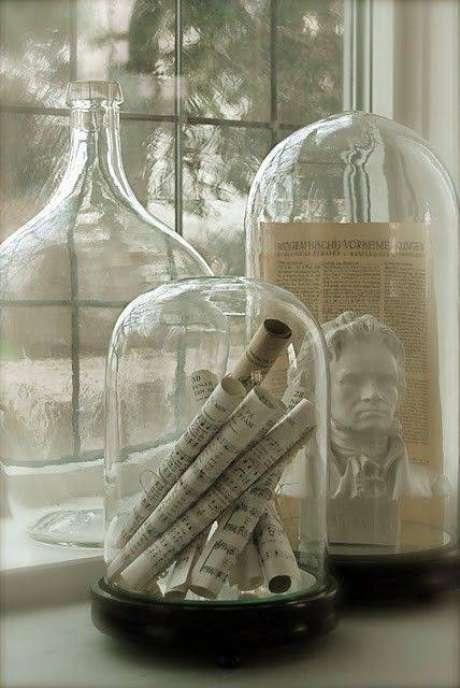 19. A redoma de vidro pode ser temático. Foto: Pinterest