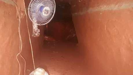 Túnel em escavação já estava com 63 metros