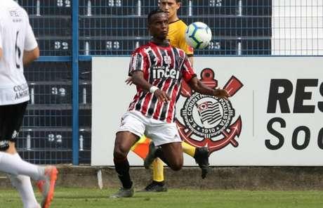 Jovem atacante do Tricolor se envolveu em confusão neste final de semana (Foto: Igor Amorim/saopaulofc.net)