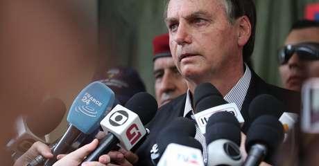 Bolsonaro não parece preocupado com o descontentamento da imprensa