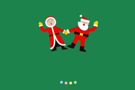 Internautas podem acompanhar o trajeto do Papai Noel em tempo real pelo Google.