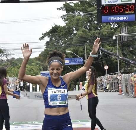 Tatieçe de Carvalho é esperança brasileira na São Silvestre – Foto: Divulgação