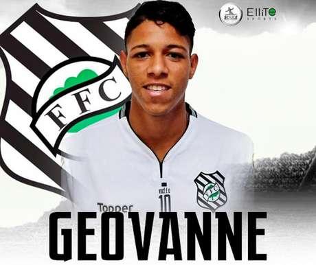 Geovanne se destacou na disputa da Taça das Favelas, chegou ao Tricolor e agora está no Figueira (Foto: Reprodução)