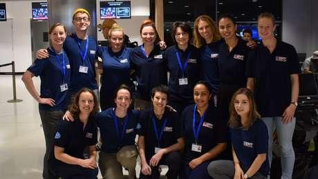 Atualmente, a Equipe Médica de Emergência do Reino Unido tem 13 membros em Samoa