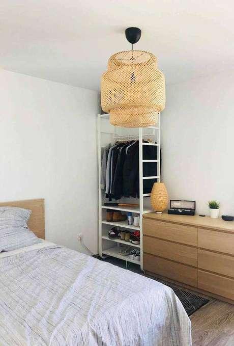 5. Seu quarto merece bons lustres modernos. Foto: Decor Fácil