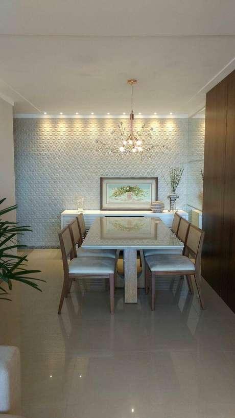 58. Lustres modernos podem usar lâmpadas pequenas. Projeto de Office Duo Arquitetura e Interiores