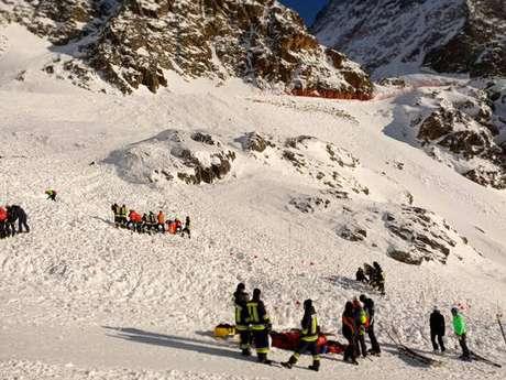 Avalanche mata duas pessoas no extremo norte da Itália