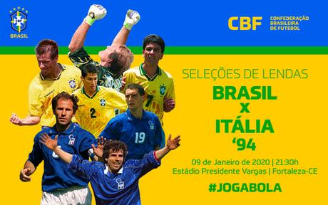 Depois de 26 anos, seleções de 1994 reeditam a final da Copa do Mundo (Foto: Divulgação/CBF)