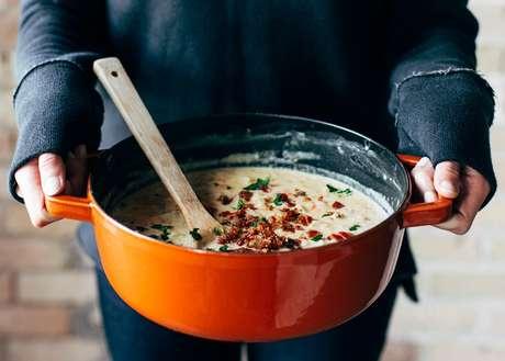 Uma receita para o luto: sopa cremosa de tomate