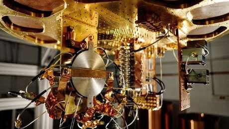 Componentes do computador quântico do Google