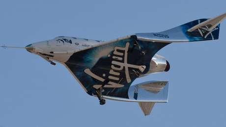 Virgin Galactic pode levar passageiros para o espaço em 2020