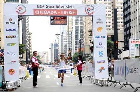 Marílson Gomes dos Santos foi o último brasileiro a ganhar a São Silvestre