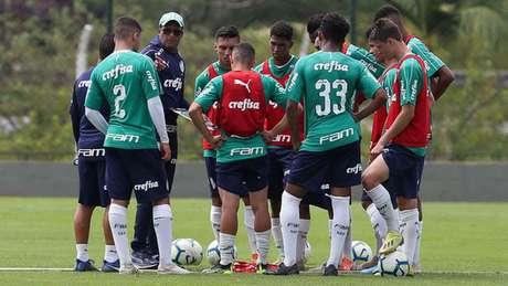 Wesley Carvalho diz utilizar o jejum como motivação diariamente na preparação para Copinha (Agência Palmeiras)