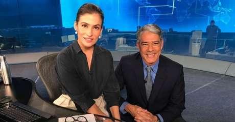 Ancorado por Renata Vasconcellos e William Bonner, o Jornal Nacional oscila entre o primeiro e o segundo programas mais vistos da televisão brasileira