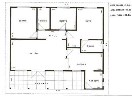 62. Organize as plantas de casas simples – Por: Tudo Construção