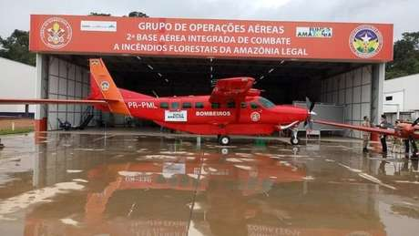 Fundo da Amazônia foi usado para comprar essa aeronave que custou R$ 12 milhões e foi usada para combater incêndios na Amazônia em agosto