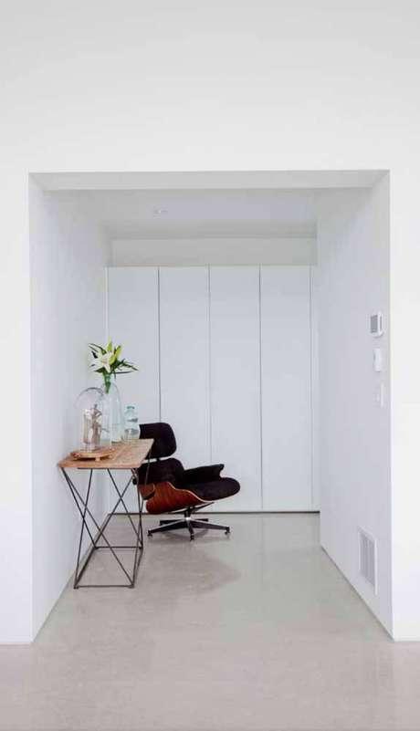 14. O conforto também deve fazer parte da poltrona giratória. Foto: Pinterest