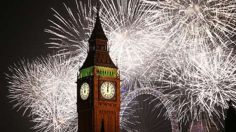 Até 1752 a Grã-Bretanha tinha uma data diferente para comemorar a passagem do ano