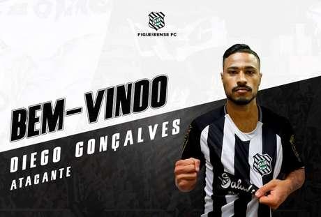 Atacante Diego Gonçalves é o novo reforço do Figueirense