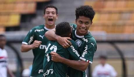 Gabriel Silva, que era do sub-17, é uma das apostas do Palmeiras na Copinha (Foto: Agência Palmeiras/Divulgação)