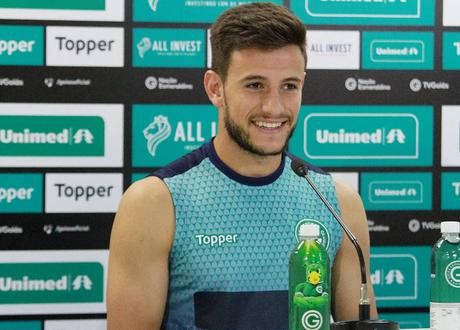 Leandro Barcia marcou cinco gols em 35 partidas no Campeonato Brasileiro. (Foto: Reprodução/ Goiás)